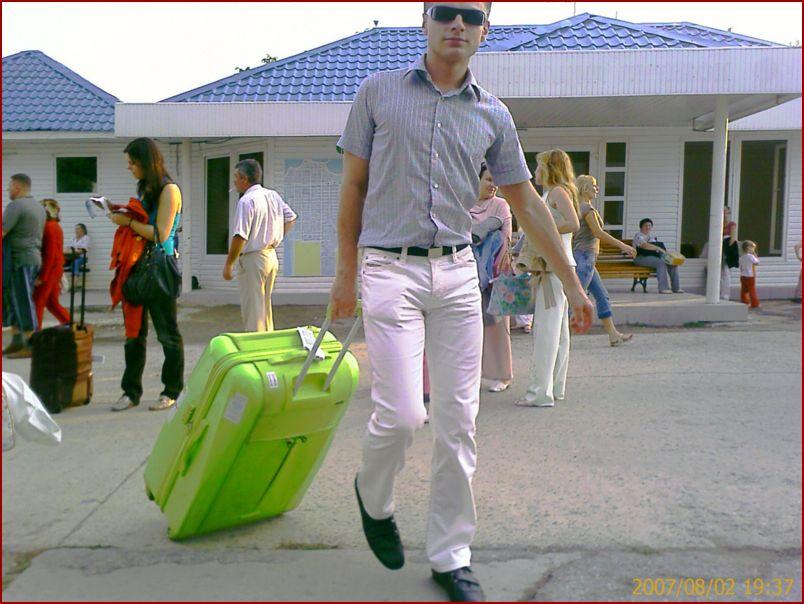 Дима Караваев в аэропорту Анапы