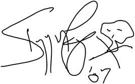 Автограф Игги Поп Iggy Pop autograph