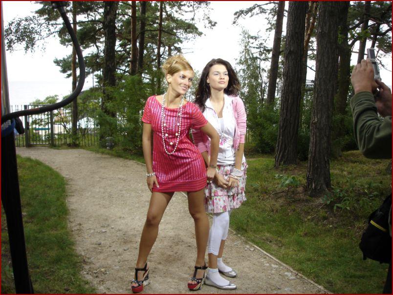 Юлия Говор и Саша Одинаева