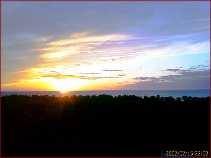 Закат в Юрмале